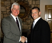 Rick with Lt. Governor Kinder